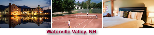 Waterville Valley, NH Tennis camps
